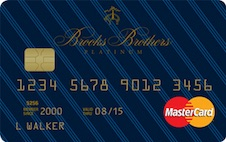 Brooks Brothers Platinum MasterCard