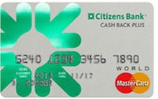 Citizens Bank Cash Back Plus™ World MasterCard