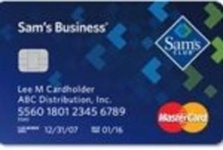 Sam's Club Business MasterCard