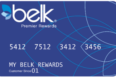 Belk Premier Rewards Credit Card